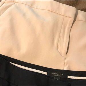 Size 12 Devin fit Ann Taylor pants, 3 pair